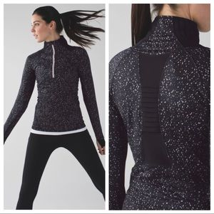 Lululemon Go The Distance 1/2 Zip Pullover Jacket